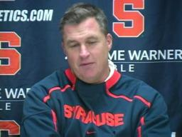 Syracuse vs. UConn football:  Coach Doug Marrone