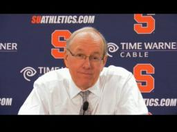 Coach Boeheim on the Orange win over Colgate, 92-58