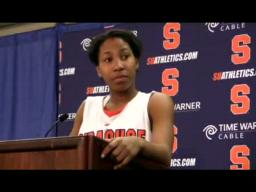 SU Player's Wagner Post-game Press Conference