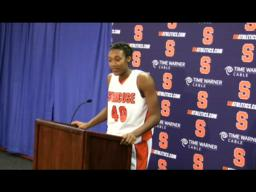 SU Players Rider College Post-game Press Conference