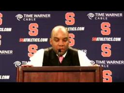 Coach Hillsman Georgetown Post-game Press Conference