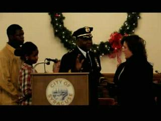 Fire, Police Chiefs and Deputy Mayor Sworn In