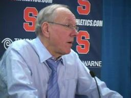 Syracuse vs. Memphis basketball:  Coach Jim Boeheim