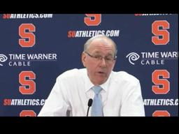 Coach Boeheim on the Orange win over South Florida, 82 - 65