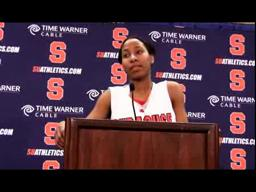 SU Players Brown University Post-game Press Conference