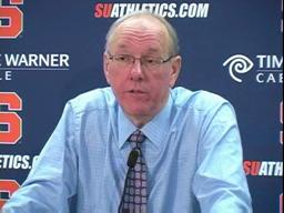 Syracuse basketball: SU vs. UConn - Coach Jim Boeheim