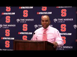 Hillsman Cincinnati Post-game Press Conference