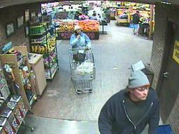 Suspect seen leaving Fairmount Wegmans with stolen meat