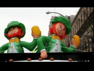 St. Patricks Parade: May the Wind Be At Your Back