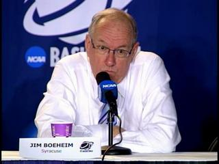 NCAA 1st Round: SU-Vermont Coach Boeheim Post-Game Press Conference