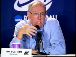 NCAA 2nd Round: SU-Gonzaga Coach Boeheim Post-Game Press Conference