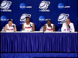 NCAA 1st Round: SU-Vermont Players Post-Game Press Conference