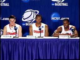 NCAA 2nd Round: SU-Gonzaga Players Post-Game Press Conference