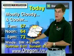 Thursday, August 6 weather forecast
