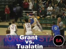 Grant slams Tualatin in quarterfinals
