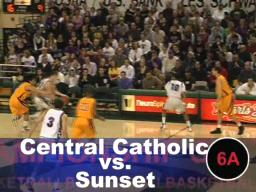 Sunset holds on to beat Central Catholic