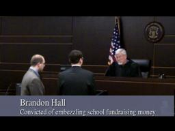 Brandon Hall sentencing