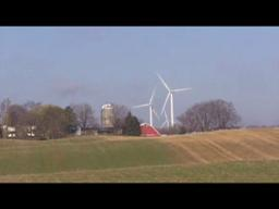 Wind turbine farm visit