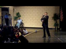 Michael Baisden visits Muskegon Heights