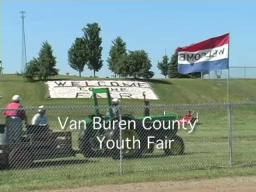 Poultry judging at the Van Buren Youth Fair
