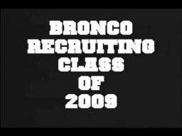 2009 Bronco Recruiting Class