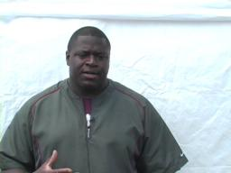 Kalamazoo Central football coach Lamanzer Williams