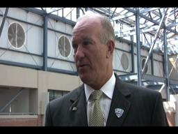 Interview with Western Michigan University football head coach Bill Cubit