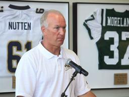Western Michigan University football media day: Bill Cubit PART 3