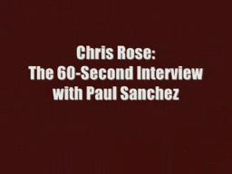 60 Seconds: Paul Sanchez & The Rolling Road Show
