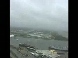 U.S. Coast Guard video of ships and barges in Industrial Canal