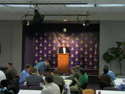 Les Miles press conference September 15, 2008