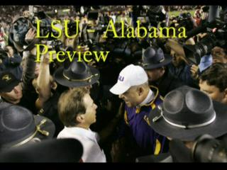LSU - Alabama football preview