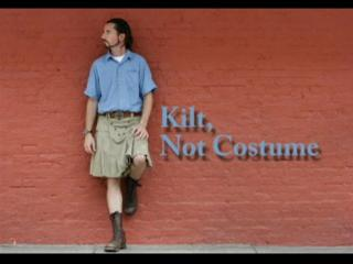 Kilt, Not Costume