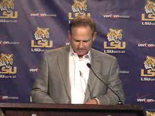 Les Miles press conference Nov. 11, 2008