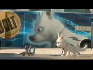 Fetch the trailer for Disney's 'Bolt'