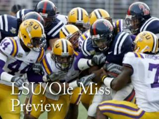 LSU - Ole Miss video preview