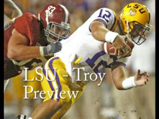 LSU - Troy football preview