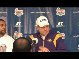 LSU's Les Miles press conference