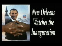 New Orleans Watches the Inauguration