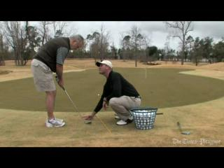 Golf video: chipping and pitching. 