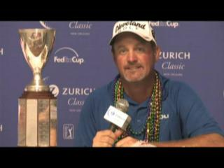 Jerry Kelly wins the Zurich Classic 2009