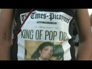 VIDEO: Huge second-line honors Pop King Michael Jackson