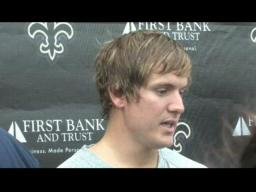 Video Comments from Saints' Kickers 