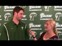 Tulane quarterback Ryan Griffin and T-P's Tammy Nunez talk about the Southern Miss game