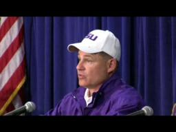 LSU Head Coach Les Miles Post-Game Comments