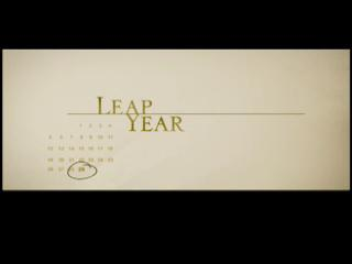Movie trailer: 'Leap Year'