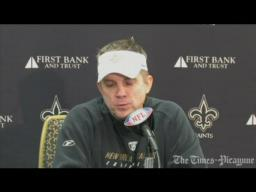 Sean Payton's Press Conference 12-28-2009