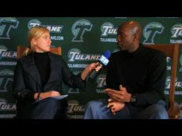 Tulane Video: Basketball coach Dave Dickerson