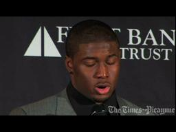 Saints Video: Reggie Bush post game remarks