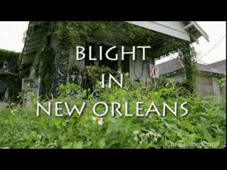 New Orleans Mayor's Race Video: Blight